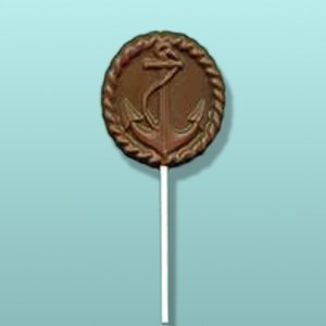 Chocolate Ship Anchor Lolly