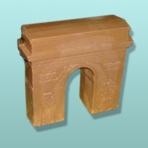 3D Chocolate Paris Arc De Triomphe