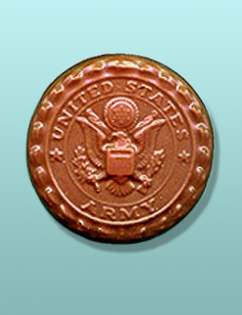 Chocolate Army Medallion Favor