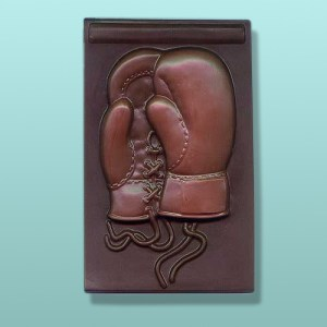 Chocolate Boxing Glove X-Large Plaque