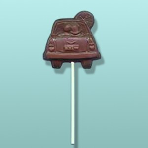 Chocolate Car Date Lolly