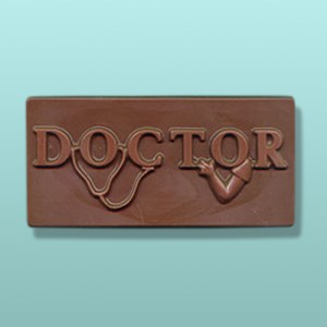 Chocolate Doctor Large Plaque