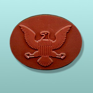 Chocolate American Eagle Oval Favor