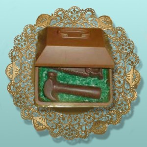 Edible 3D Chocolate Tool Box and Tools