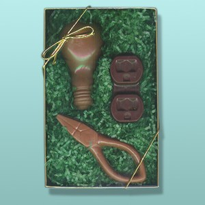 Chocolate Electrician Tools Gift Set