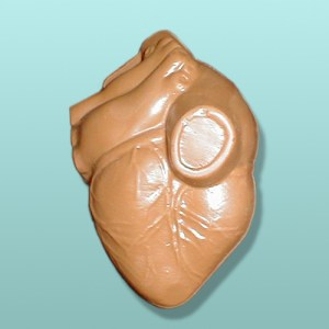 3D Chocolate Human Heart