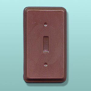 Chocolate Light Switch Face Plate