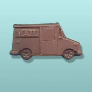 Chocolate Mail Truck Party Favor