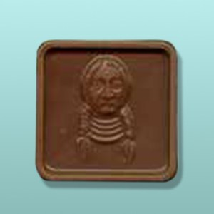 Chocolate Sitting Bull Favor