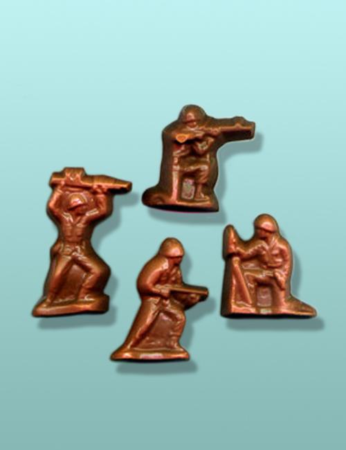 Chocolate Military Soldier Favors