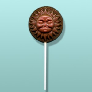 Chocolate Summer Sun Party Favor