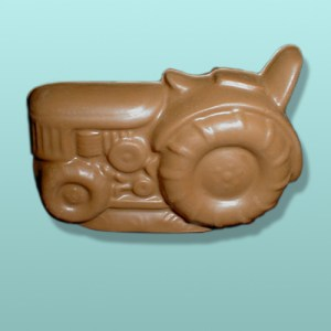 3D Chocolate Farm Tractor