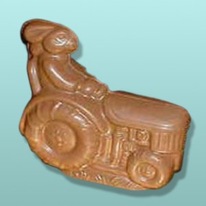 3D Chocolate Tractor Bunny