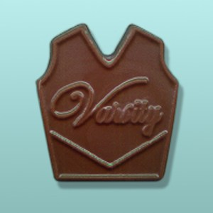 Chocolate Cheerleader Varsity Vest Favor