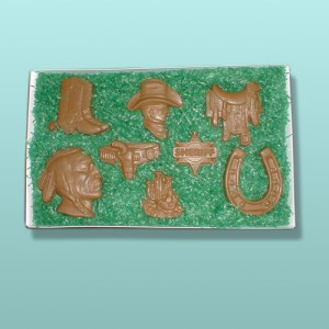 Chocolate Western Cowboy Gift Set II