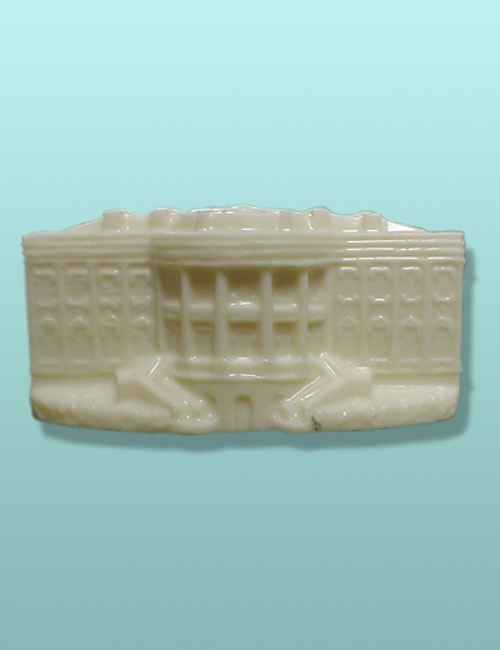 3D White House - North Portico