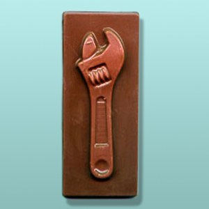 Chocolate Crescent Wrench Bar Favor