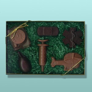 Chocolate Air Ambulance Gift Set