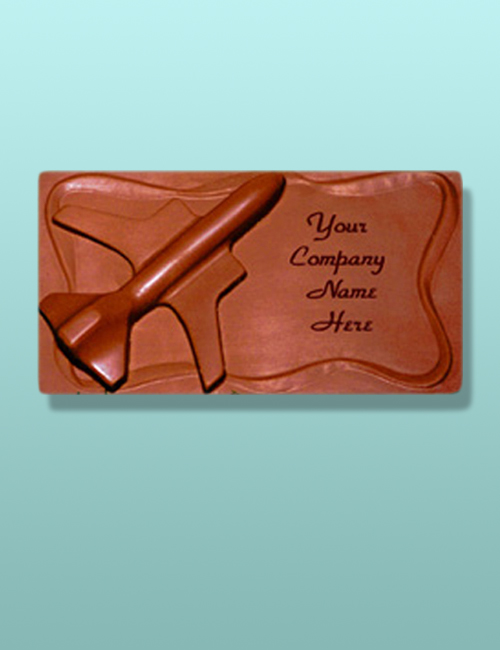 Chocolate Airplane Plaque