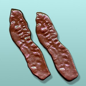 Chocolate Bacon Strip Party Favor