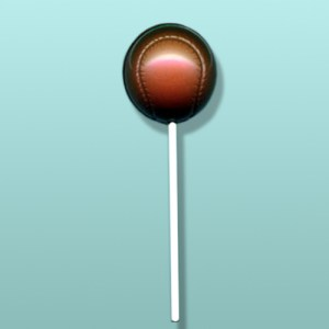 Chocolate Baseball I Lolly Favor