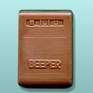 CHOCOLATE BEEPER and PAGER FAVORS