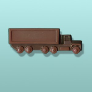 Chocolate Big Rig Tractor Trailer Truck