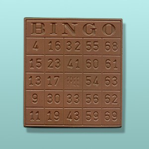 Chocolate Bingo Card Plaque