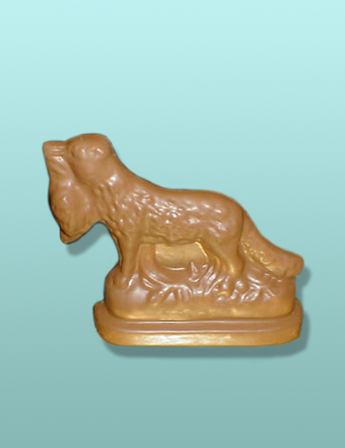 3D Chocolate Bird Dog Retriever