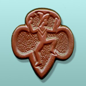 Chocolate Brownie Emblem Favor