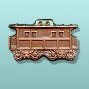 Chocolate Antique Large Train Caboose