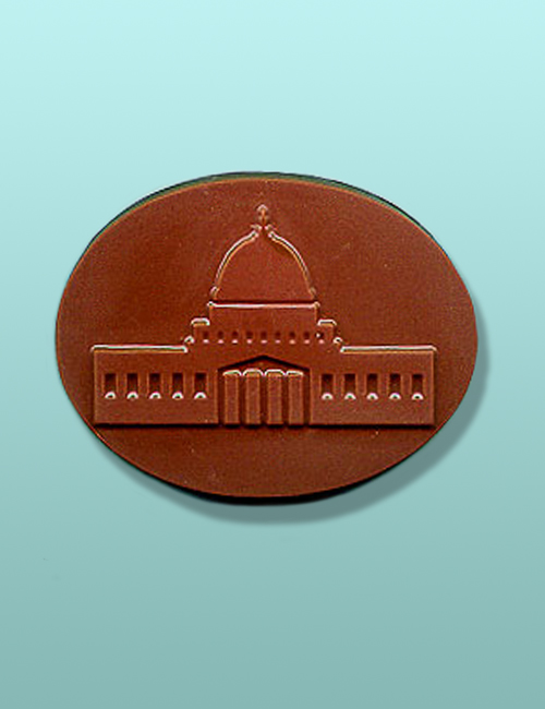 Chocolate Capitol Building Oval Favor