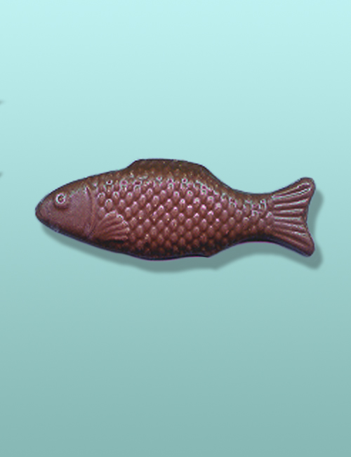 Chocolate Carp Fish Favor