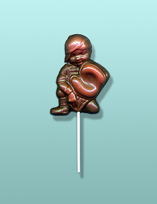 Chocolate Baseball Catcher Lolly Favor