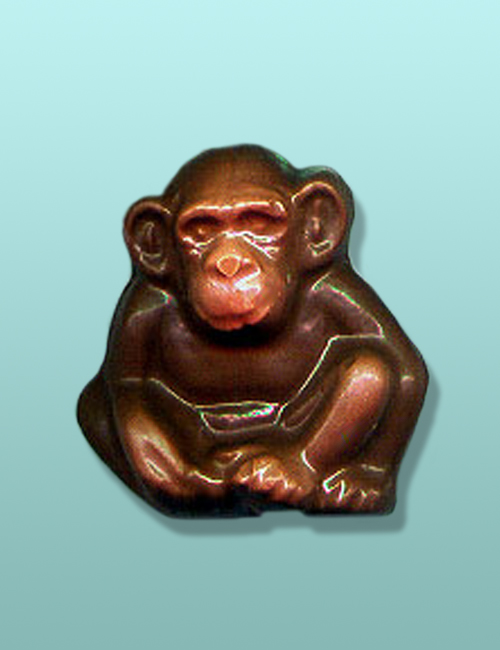 Chocolate Chimpanzee Party Favor