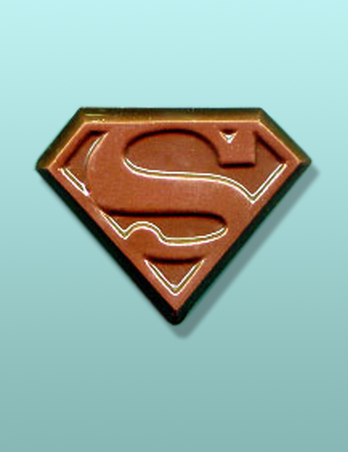 Chocolate Superman Emblem Favor