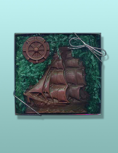 Chocolate Clipper Ship Gift Set