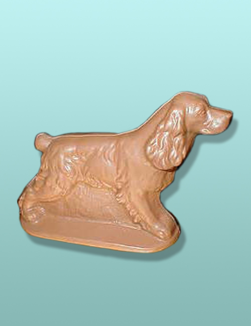 3D Chocolate Cocker Spaniel Dog