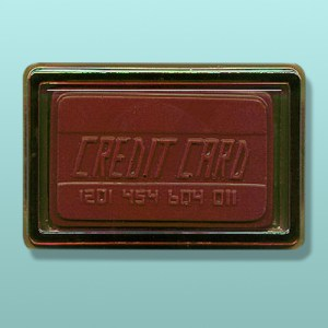 Chocolate Credit Card Party Favor