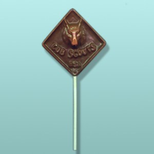 Chocolate Cub Scout Lolly Favor