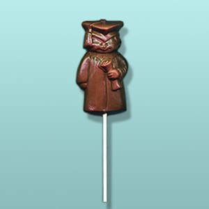 Chocolate Cute Boy Graduation Lolly