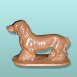 3D Chocolate Dachshund Dog