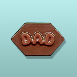 Chocolate Dad Hexagon Favor