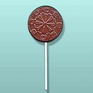 Chocolate Dart Board Party Favor