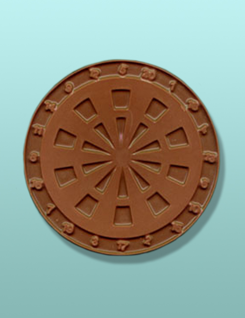 Chocolate Dart Board Large Plaque