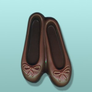 Chocolate Ballerina Large Toe Shoes