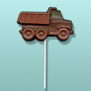 Chocolate Dump Truck Lolly