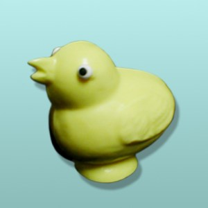 3D Chocolate Easter Chick Peep