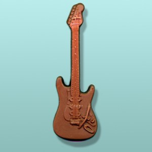 Chocolate Electric Guitar Favor