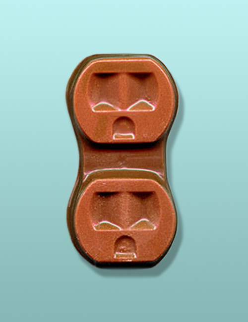 Chocolate Electrical Outlet Favor